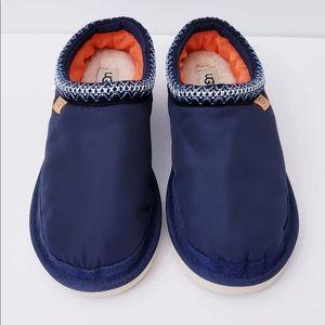 UGG NAVY BLUE TASMAN SLIPPERS for MEN